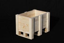 XM-BOX002 / Caisse-palette montée jointive