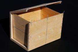 P-BOX 001 / Caisse pliante pleine
