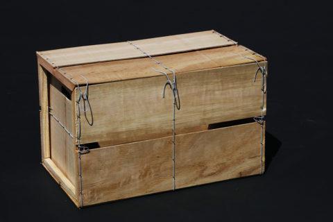 P-BOX002 / Caisse pliante à claire voie